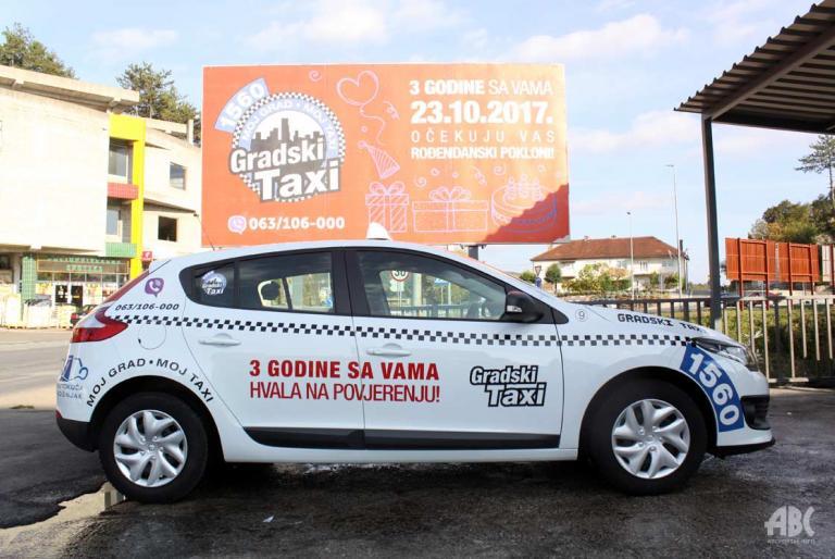 gradski taxi široki