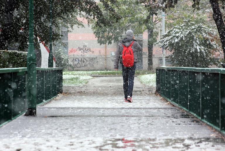 pada snijeg