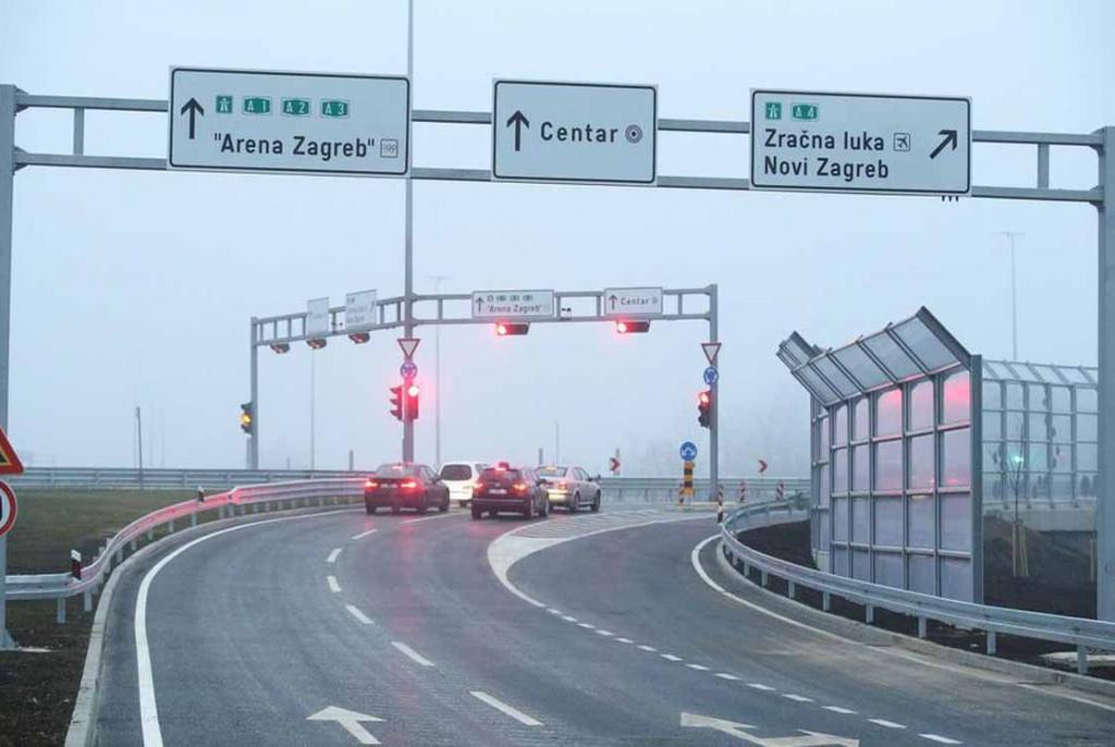 Zagreb Ovako Izgleda Voznja Kroz Novi Rotor Sa Tunelima I Semaforima Abc