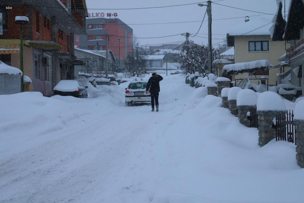 snijeg bosna