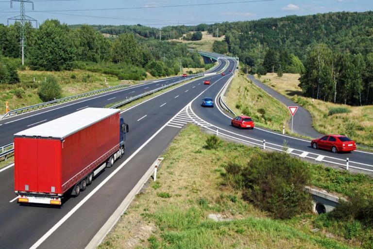 autocesta kamion