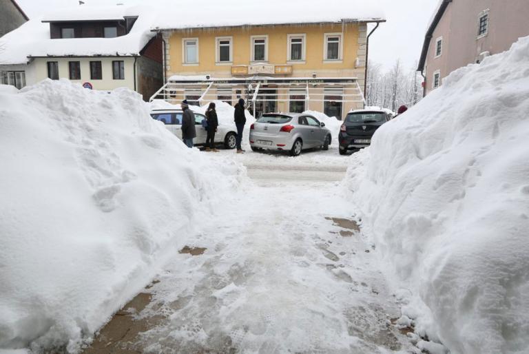 snijeg hrvatska
