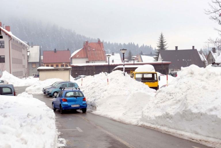 snijeg naselje