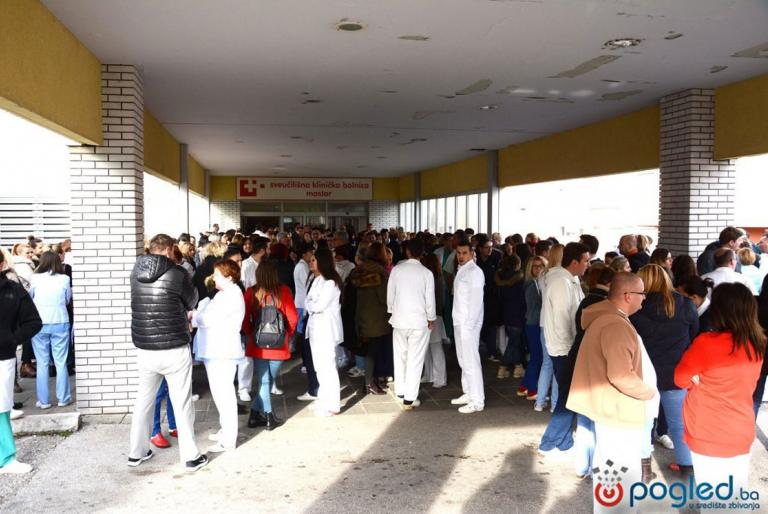štrajk bolnice