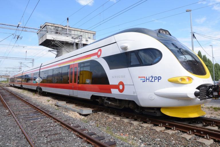 vlak hrvatska